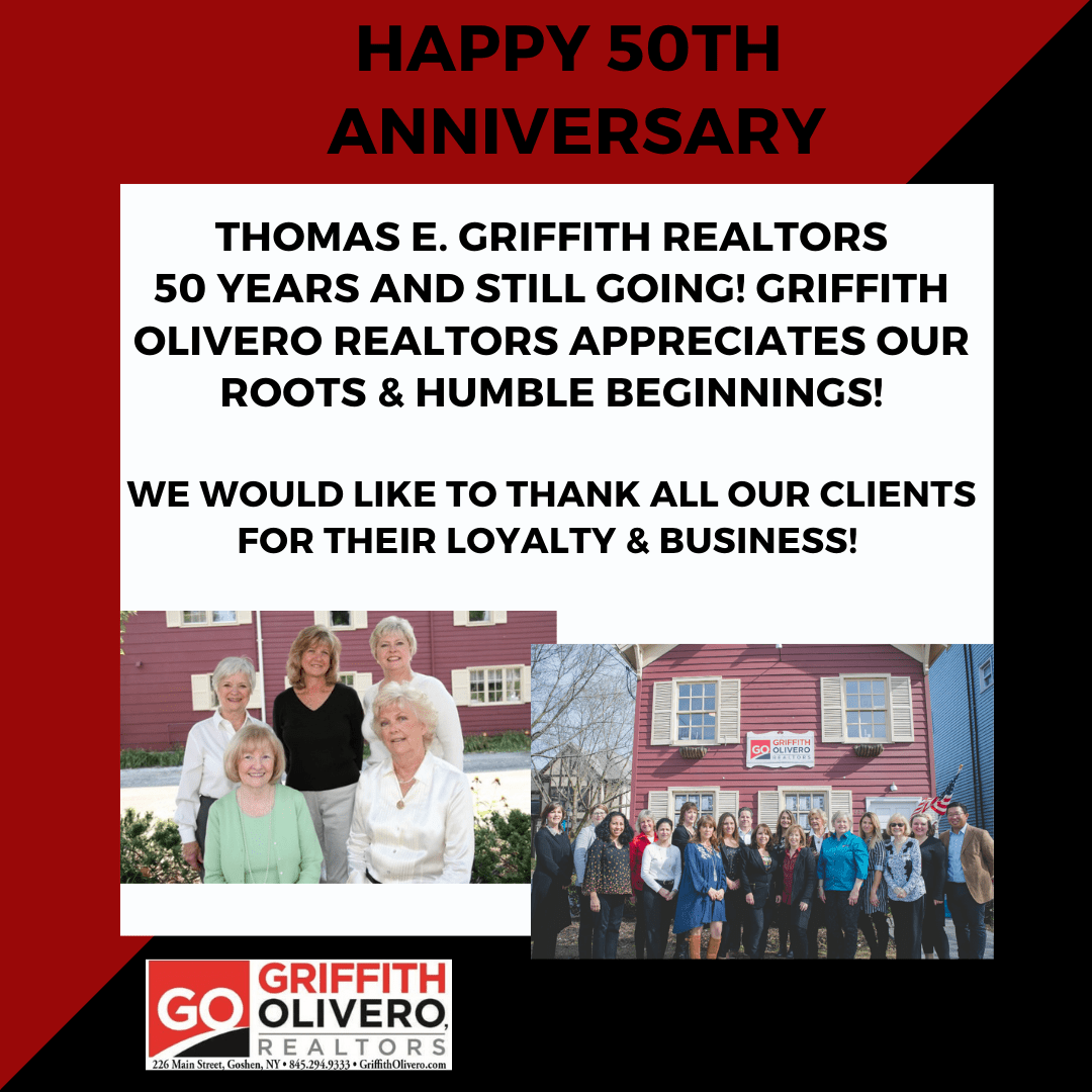Thomas E. Griffith Realtors Celebrates 50 Years in Business!!